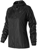 New Balance Women's Windcheater Solid Windbreaker Jacket