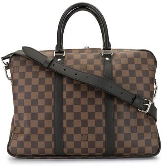 Louis Vuitton 2018 pre-owned Damier pattern PM briefcase