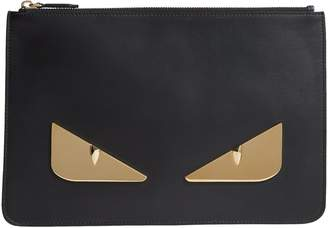 Fendi Leather Bag Bugs Pouch