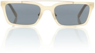 Self-Portrait Lia rectangular sunglasses