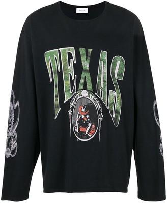 Rhude Texas oversized sweatshirt