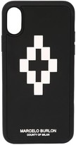 Marcelo Burlon County Of Milan Printed 3d Logo Cross Tech Iphone X Case