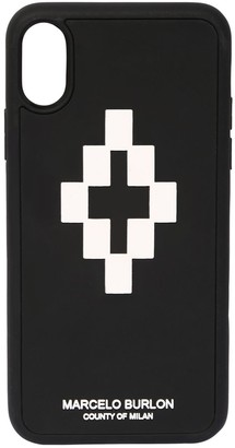 Marcelo Burlon County of Milan Printed 3d Logo Cross Iphone X/Xs Case