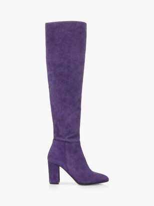 Dune Selsie Suede Over The Knee Boots