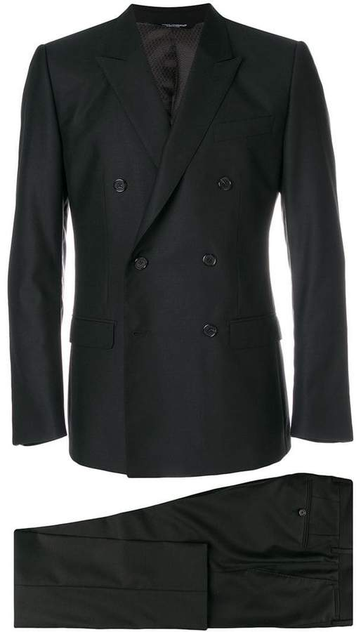 Dolce & Gabbana double breasted formal suit