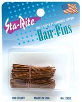 Sta-Rite Bronze Assorted Hair Pins