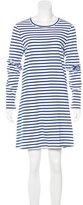 A.L.C. Striped T-Shirt Dress