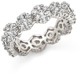 Bloomingdale's Diamond Cluster Eternity Band in 14K White Gold, 2.0 ct. t.w.