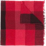 Faliero Sarti fringed monochrome scarf