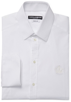 Dolce & Gabbana French Cuffs Cotton Dress Shirt