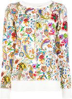 Etro floral jumper - women - Spandex/Elastane/Viscose - 40
