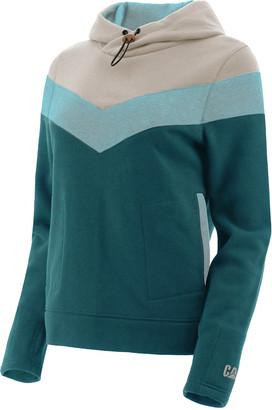 CAT Women's Sweatshirts and Hoodies BISCAY - Biscay Bay Color-Block Water-Resistant Charlie Hoodie - Women