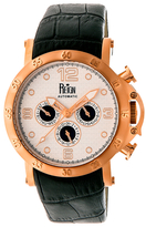 Reign Toretto Automatic Leather Watch, 44mm