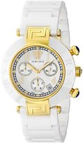 Versace Women's 95CCP1D497 SC01 Reve Gold Ion-Plated Watch with Ceramic Band