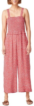 French Connection Shirred Bodice Jumpsuit