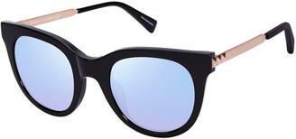 Rebecca Minkoff Stevie Acetate & Metal Round Sunglasses