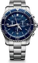 Victorinox Men's Maverick 241689 Silver Stainless-Steel Swiss Quartz Watch