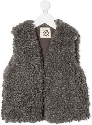 Douuod Kids Faux Shearling Vest