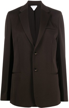 Bottega Veneta Notched Lapels Single-Breasted Blazer