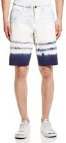 Original Paperbacks St. Barts Tie Dye Raw Edge Shorts