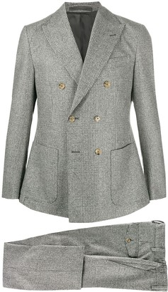 Eleventy Prince of Wales check suit