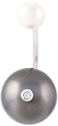 Delfina Delettrez 'Pearl piercing' diamond earring