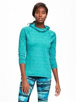 Old Navy Go-Dry Funnel-Neck Pullover for Women
