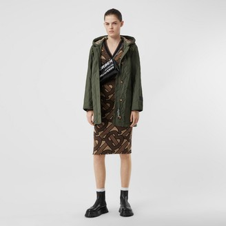 Burberry Diamond Quited Thermoreguated Hooded Coat