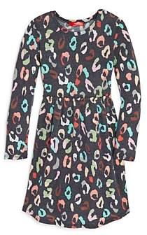 Aqua Girls' Leopard Print Dress, Big Kid - 100% Exclusive