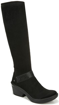 Bzees Embellished Strap High Shaft Boots - Tango
