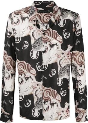 AllSaints Abstract Print Shirt