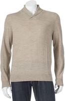 Apt. 9 Men's Modern-Fit Marled Merino Shawl-Collar Sweater