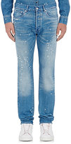 Givenchy Men's Distressed Jeans-BLUE