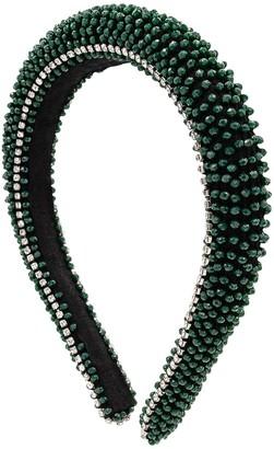 MaryJane Claverol Guayana Beads & Crystal Headband