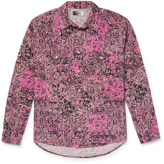 Isabel Marant Pitt Printed Cotton Shirt