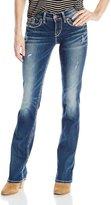 Silver Jeans Junior's Suki Mid Slim Bootcut Jean