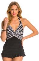 Profile by Gottex Madeira Halter Swim Dress 8140275