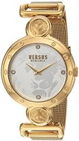 Versus By Versace Women's Sunnyridge Quartz Stainless Steel Casual Watch, Color:Gold-Toned (Model: SOL090016)