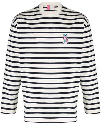 MAISON KITSUNÉ Marin Acide Patch sweatshirt