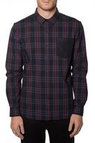 7 Diamonds &Coleman& Trim Fit Long Sleeve Woven Shirt