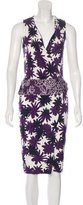 Diane von Furstenberg Serena Silk Dress