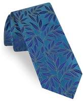 Ted Baker Tonal Leaves Silk Tie