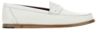Dolce & Gabbana Monogram Logo Loafers
