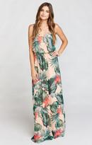 MUMU Kendall Maxi Dress ~ Kauai Kisses
