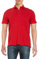 Michael Kors Short Sleeve Cotton Polo