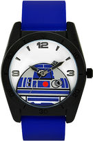 Star Wars R2-D2 Blue Silicone Strap Watch
