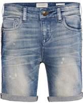 Scotch & Soda Strummer Shorts - Sunshine Blue| Skinny fit