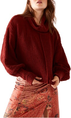 Free People Be Yours Cowl Neck Sweater
