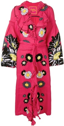 Yuliya Magdych Loves Me embroidered dress