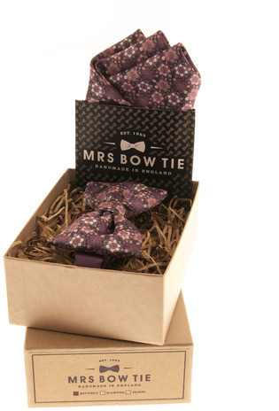 Mrs Bow Tie Bow Tie Set Floral Medley